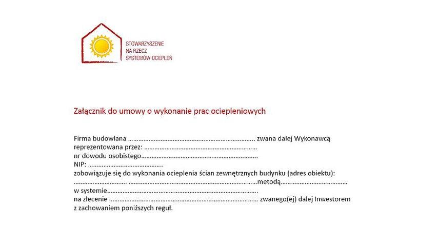 Zanim ocieplisz dom, podpisz umowę z wykonawcą