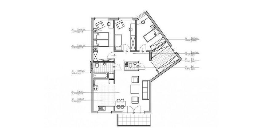 Architekt radzi. Jedno mieszkanie – dwa warianty funkcjonalne