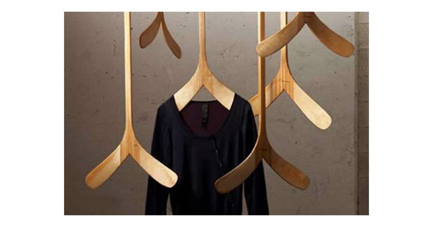 Designerskie wieszaki na ubrania