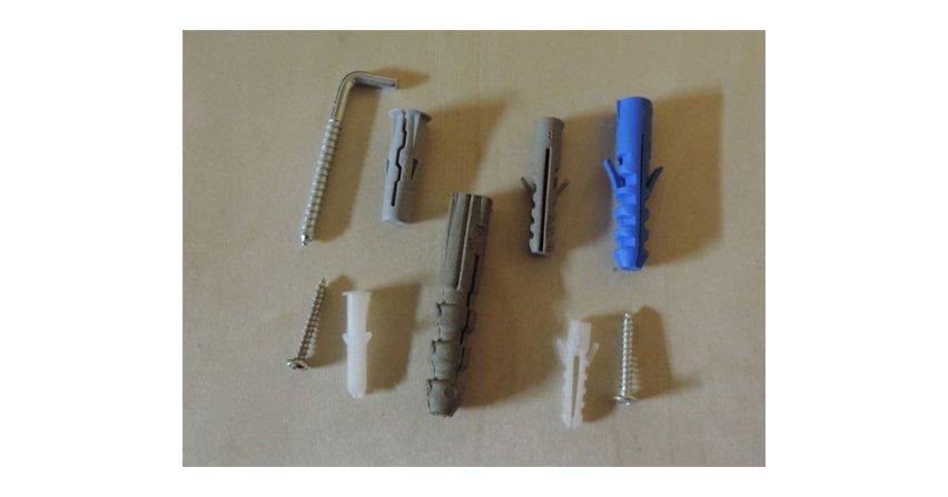 Mocowania: wkręty, kołki, kotwy, śruby
