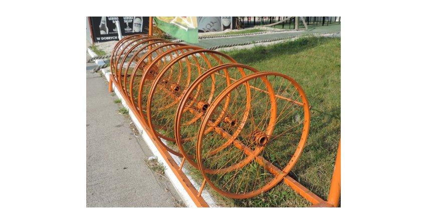 Pomysł na stojak do rowerów