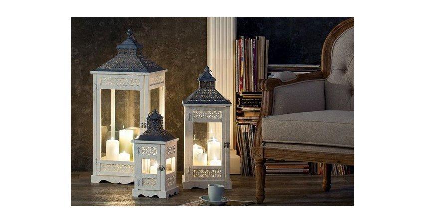 Sposób na jesienną chandrę - świeczniki i lampiony
