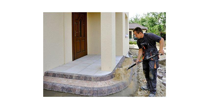 Budowa schodów tarasowych