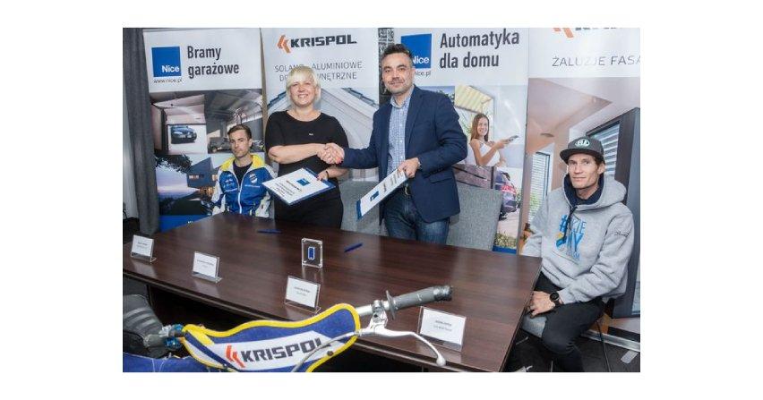 Krispol i Nice sponsorami zawodów żużlowych