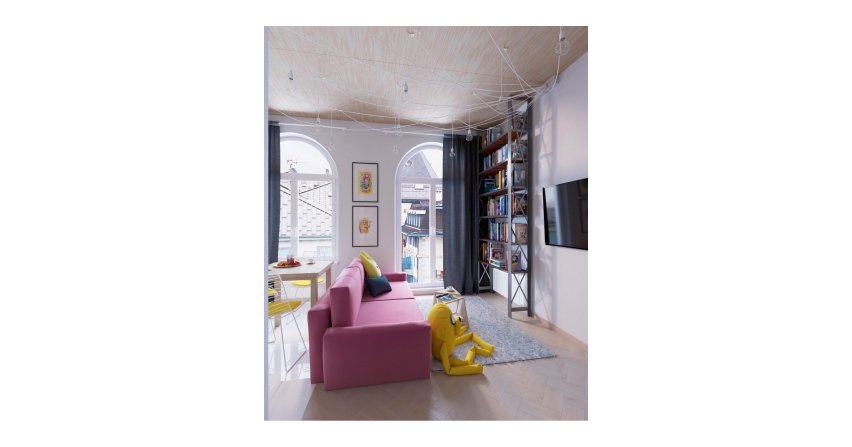 Mieszkanie w stylu pop art