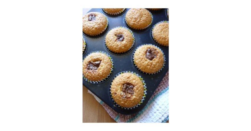 Muffinki z TWIX-em