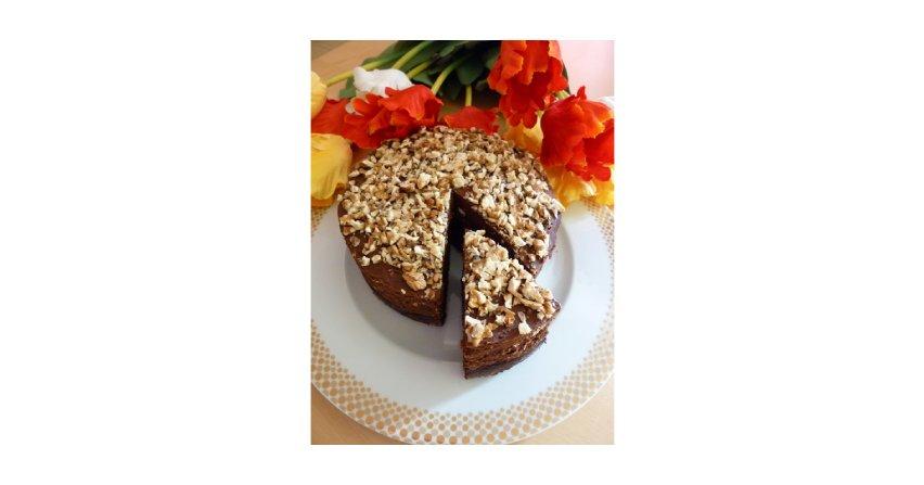 Tort z czekoladową truflą