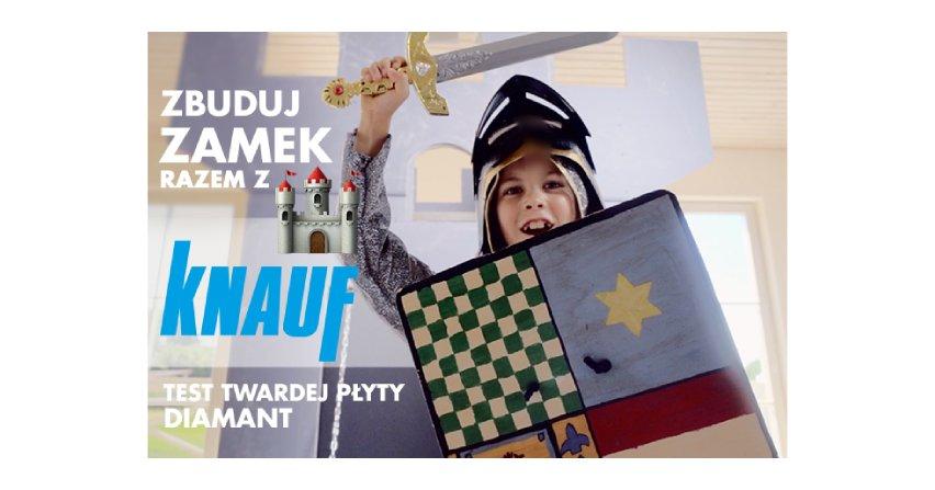 Zbuduj zamek z Knauf – ekstremalny test twardej płyty gipsowo-kartonowej Knauf Diamant