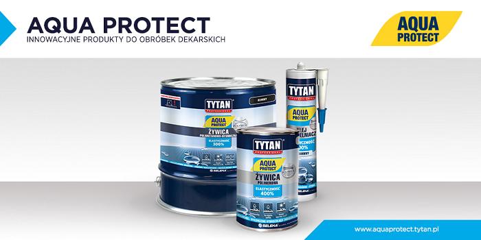 Produkty do szybkich obróbek dekarskich Aqua Protect polecane przez PSD