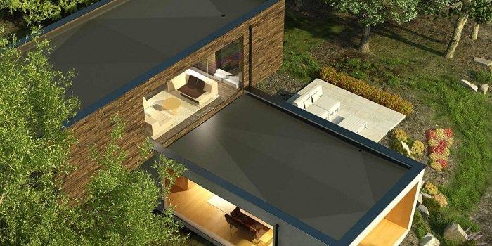 Dachy płaskie - odwodnienie i hydroizolacja