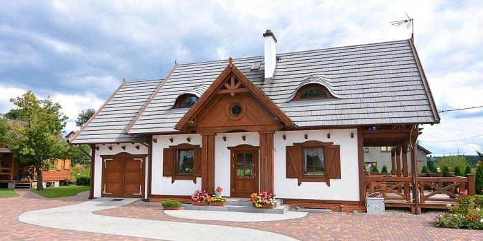 Nowoczesne i trwałe pokrycie dachu firmy Gerard dopasowane do podhalańskiego budownictwa