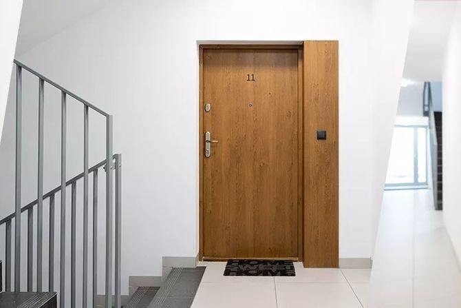 Bezpieczne drzwi do mieszkań