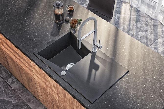 Granit - modny materiał w Twojej kuchni