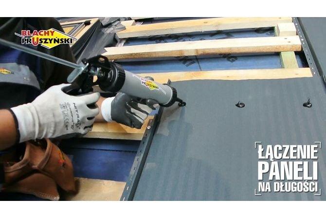 Montaż panelu na rąbek