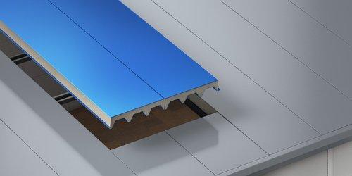 Dachowe płyty warstwowe