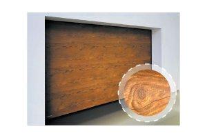 Brama garażowa VENTE K2 RFS Szlachetna SOSNA ANTYCZNA w Twoim domu