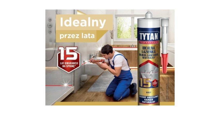Idealna łazienka na lata - z silikonem sanitarnym od Tytan Professional