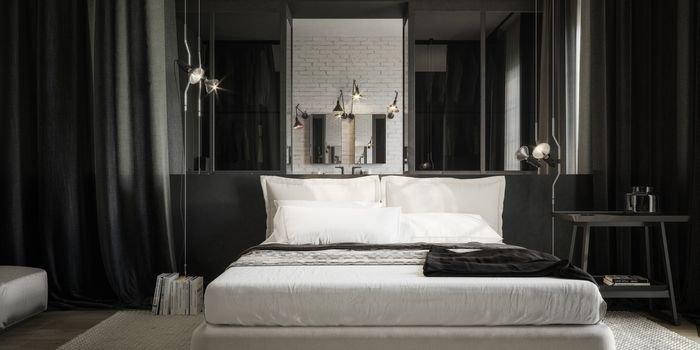 Apartament bez podziałów – ukłon w stronę czerni