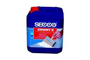 Hydroizolacje: SECCO® Grunt S