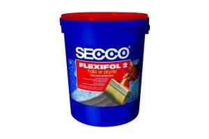 Hydroizolacje: Zaprawa uszczelniająca SECCO® Flexifol 2