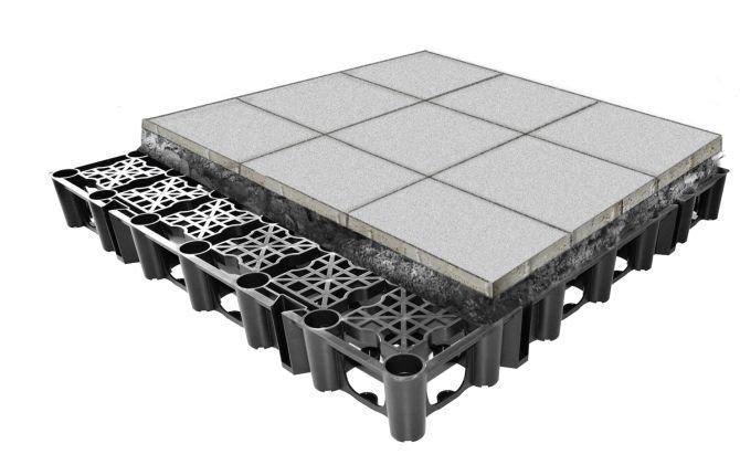 Automatyczny dach retencyjny Optigruen – nowoczesna technologia w ochronie przeciwpowodziowej w miastach