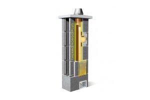 Trójwarstwowy ceramiczny system kominowy Schiedel Thermo Rondo Plus