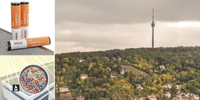 BauderKARAT Air+ dla lepszej jakości powietrza w miastach