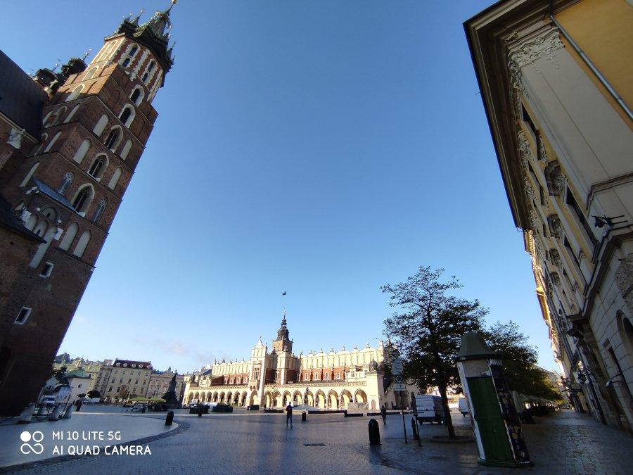 Jesienna wycieczka do Krakowa w dobie koronawirusa