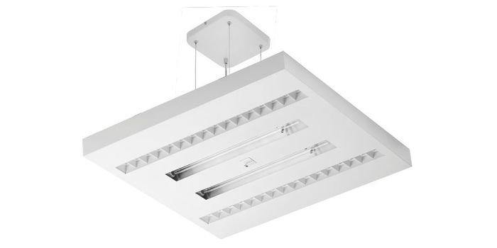 Inteligentne oświetlenie miejsca pracy – lampa z funkcją dezynfekcji powierzchni