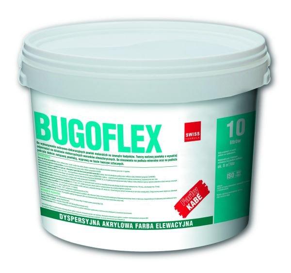 Dyspersyjna, akrylowa farba elewacyjna Bugoflex