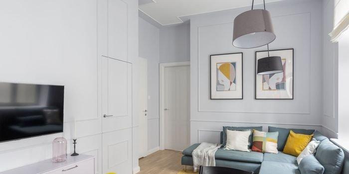 Stylowe mieszkanie w kolorach roku