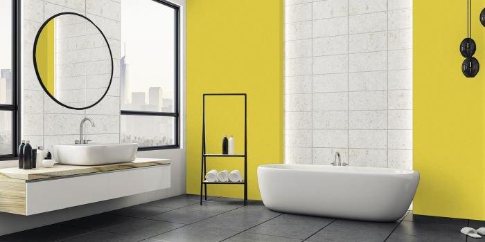 Czym pomalować ściany w kuchni i łazience?