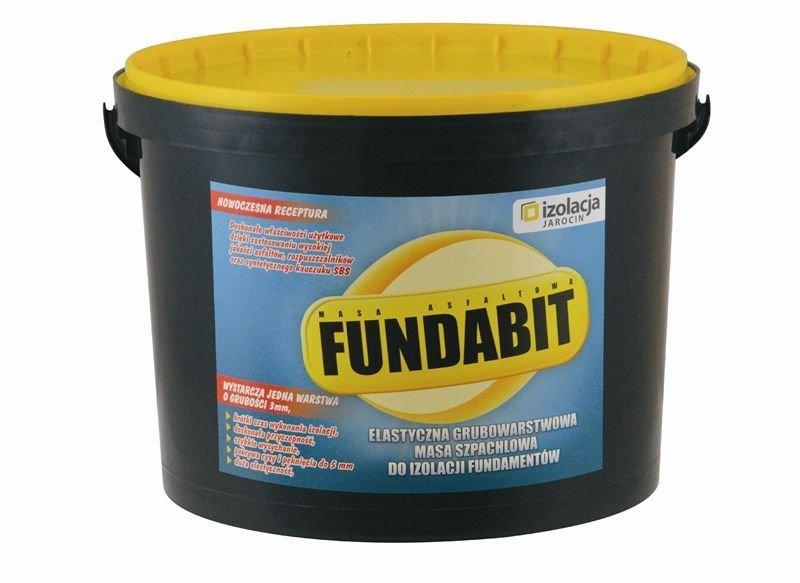 Grubowarstwowa masa do izolacji fundamentów FUNDABIT