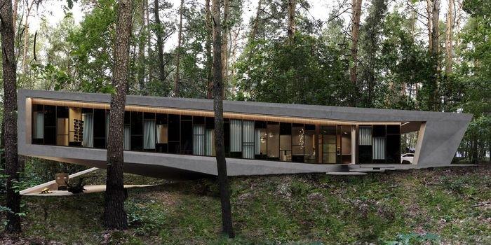 Oryginalne domy inspirowane otoczeniem