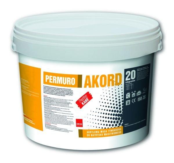 Akrylowa masa tynkarska do natrysku maszynowego Permuro Akord