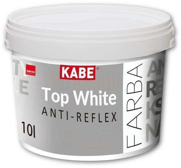 Antyrefleksyjna farba do ścian i sufitów Top White Anti-reflex