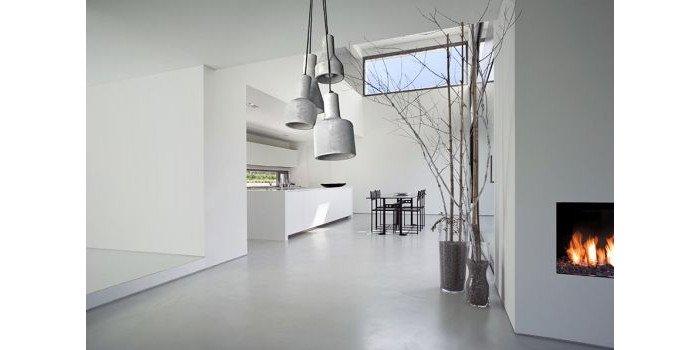 Nietypowe wykorzystanie betonu w domowych wnętrzach