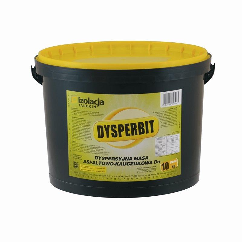 DYSPERBIT – masa asfaltowo-kauczukowa do izolacji budynku przed wodą i wilgocią
