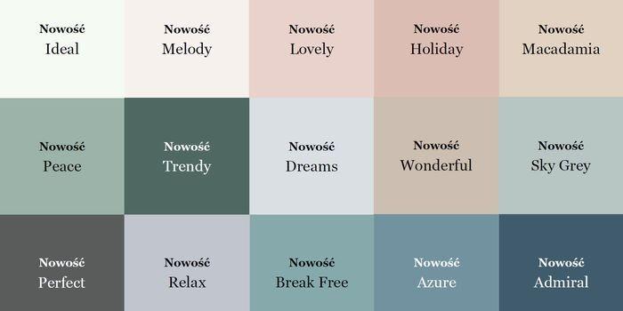 Nowe kolory w palecie farb Beckers Designer Colour