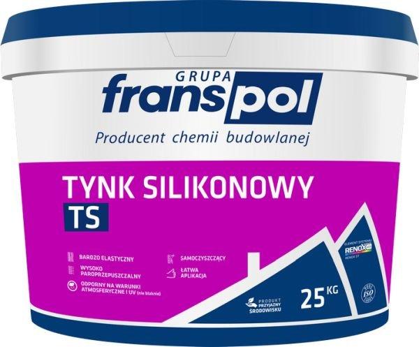Tynk silikonowy TS