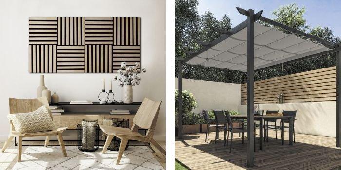 Naturalne materiały w domu i ogrodzie