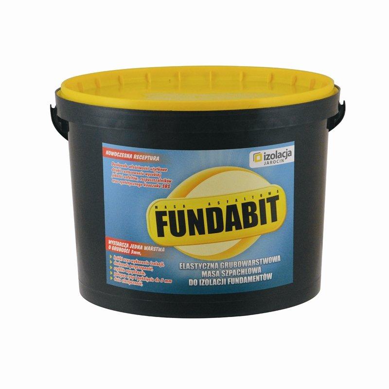 FUNDABIT – specjalistyczna masa do izolacji fundamentu