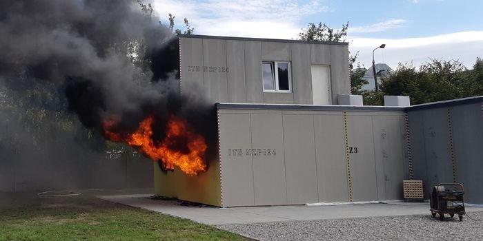 Dom bezpieczny pożarowo – wyniki eksperymentu pożarowego