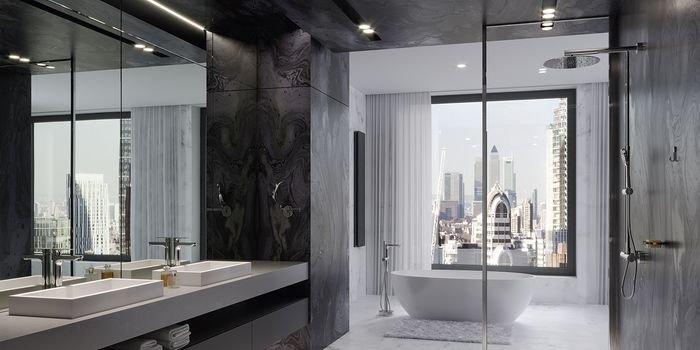 Pomysł na nowoczesną strefę prysznica
