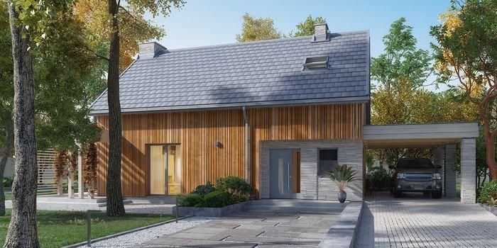 Nowoczesny i trwały dach w modnej architekturze