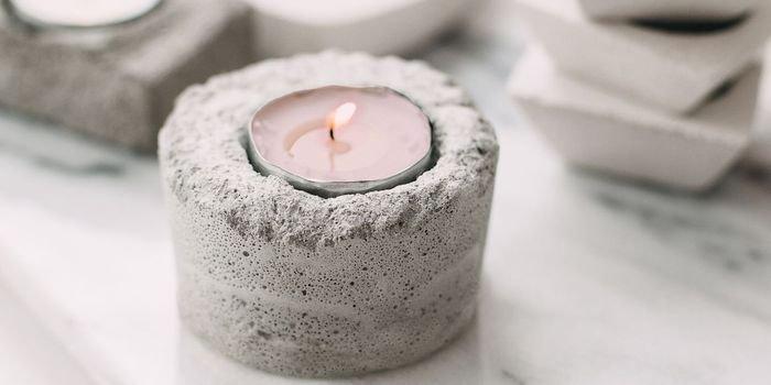 Jak wykonać świeczniki z betonu – krok po kroku
