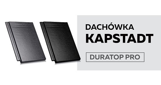 Kapstadt Duratop PRO marki Creaton – dachówka doskonała dla nowoczesnej architektury