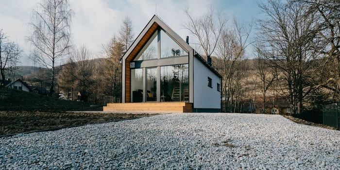 Boom na mały dom za miastem
