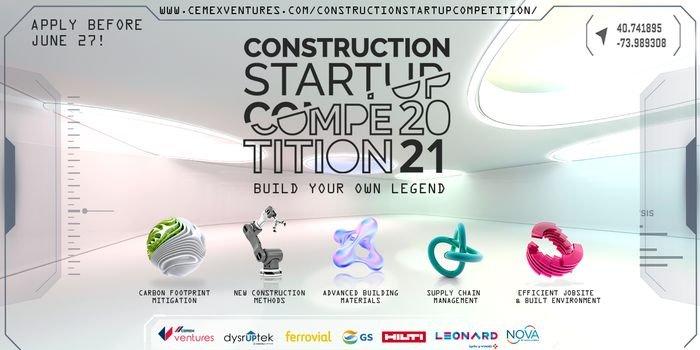 Konkurs dla Start-upów Budowlanych 2021 z CEMEX Ventures