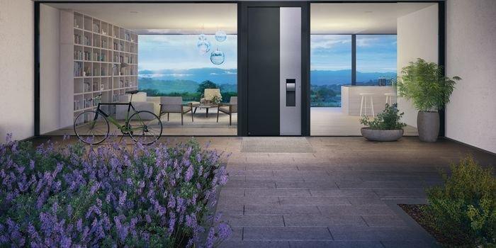Nagroda VIP Najlepsze Okna Drzwi Bramy Osłony 2021 dla drzwi zewnętrznych firmy Hörmann